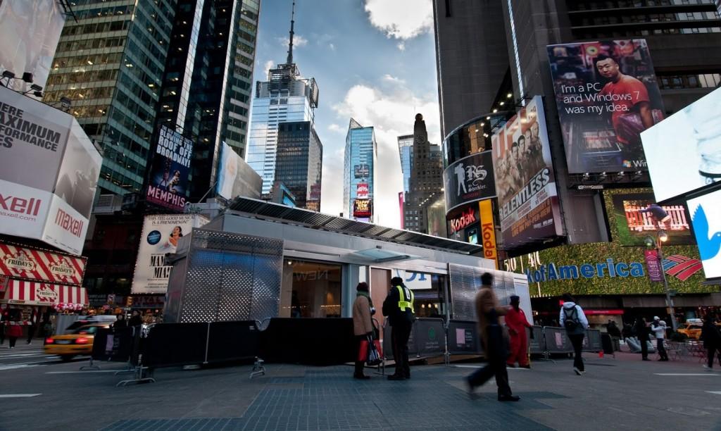 LumenHAUS on Times Square